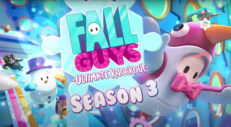 Temporada 3 de Fall Guys Chega dia 15 de Dezembro