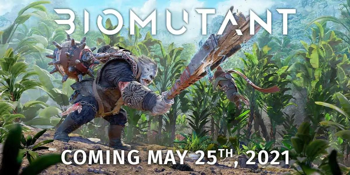 Biomutant chega em 25 de maio para Xbox One, PS4 e PC