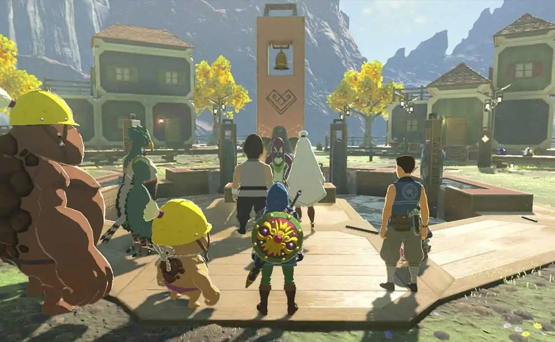 Zelda: Breath of the Wild   NPCs são apenas Miis melhorados