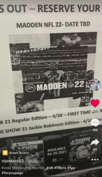 Madden NFL 22 deve ter Derrick Henry na capa