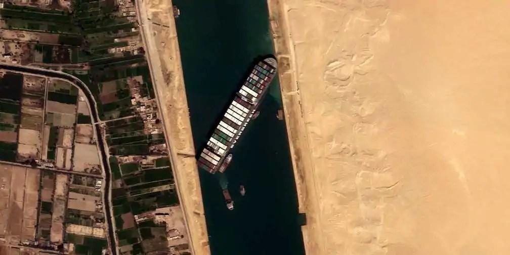 Navio do Canal de Suez se transforma em jogo; já disponível para download