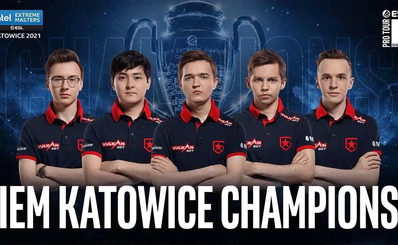 Brasileiros ficam pelo caminho e Gambit vence a IEM Katowice 2021
