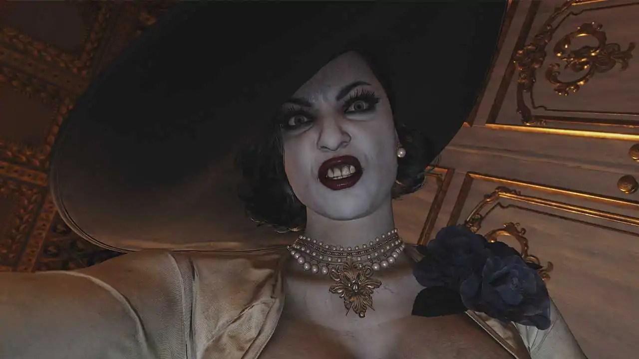 Mod de Resident Evil Village faz que chapéu de Lady Dimitrescu cresça com o tempo