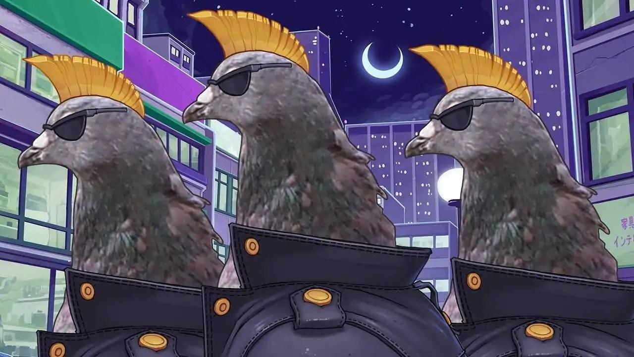 Simulador de namoro entre pombos é removido da PSN