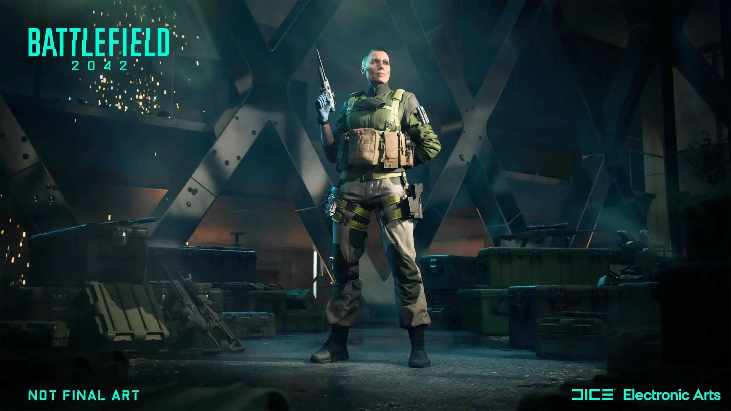 Conheça os especialistas do Battlefield 2042