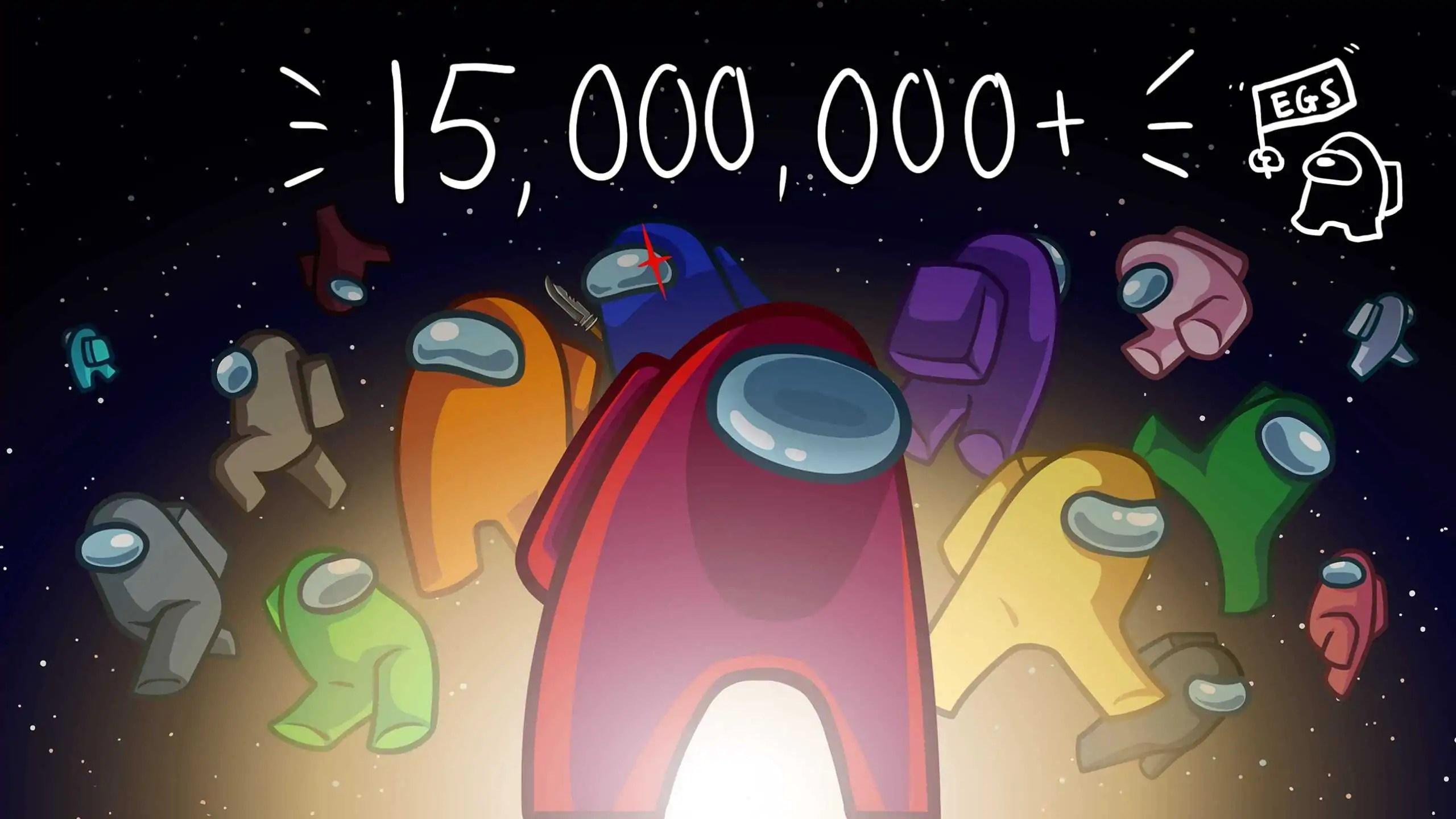 Among Us foi baixado mais de 15 milhões de vezes na Epic Games Store
