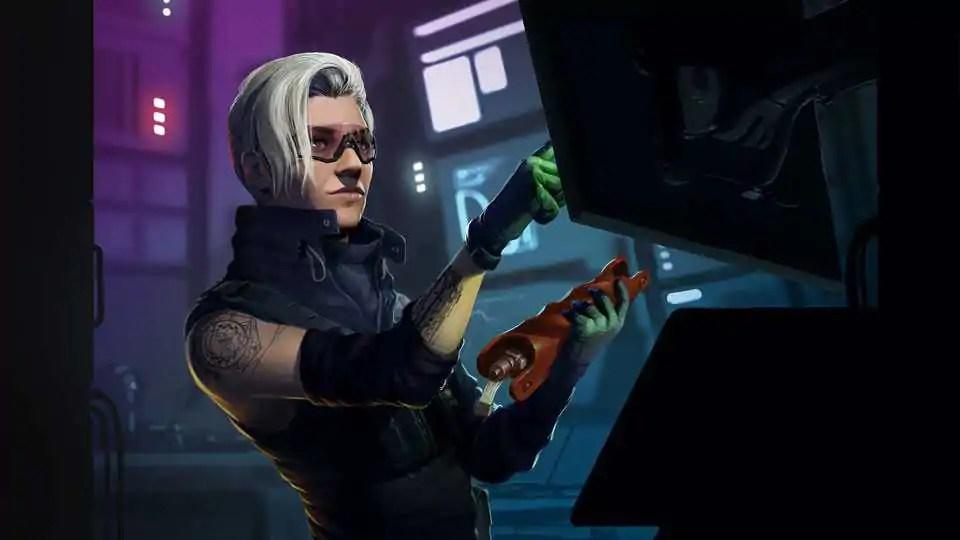 Osa, próxima operadora a chegar no Rainbow Six Siege — Foto: Divulgação/Ubisoft