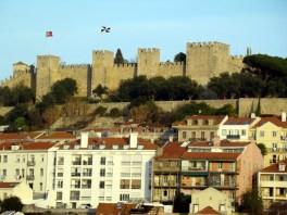 Castelo medieval de São Jorge, em Lisboa