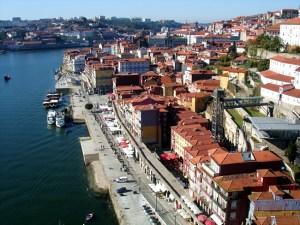 Cidade do Porto, no Douro, Portugal