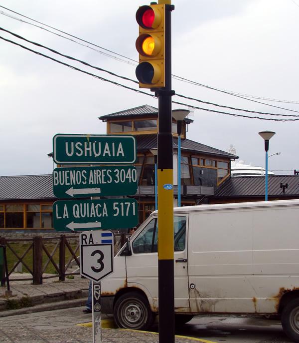 Ushuaia, a cidade mais meridional do planeta,Terra do Fogo, Argentina