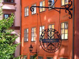 Detalhe, centro histórico, Estocolmo