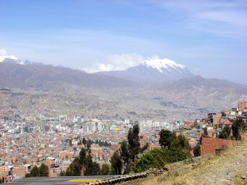 La Paz, vista panorâmica