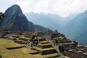 Machu Picchu, no Peru, maior sítio arqueológico das Américas