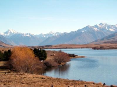 Nova Zelandia, Ilha do Sul, cenário de Senhor dos Anéis