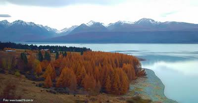 Paisagem, Ilha do Sul, Nova Zelândia