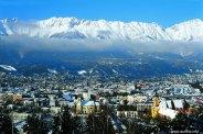 Panorâmica de Innsbruck, Àustria
