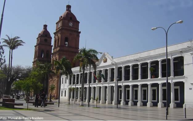 Plaza de Armas, Santa Cruz de la Sierra, na Bolívia