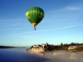 Balão, Rocamadour, França