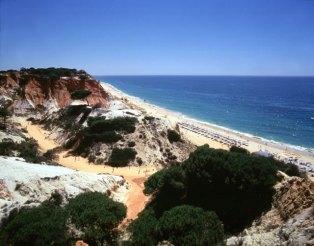 Praia, litoral do Algarve