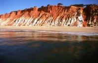 Falésia no Algarve