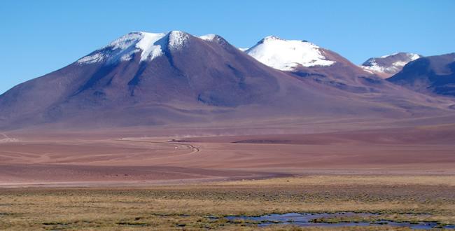 Altiplano chileno no Atacama