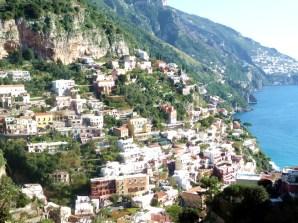 Amalfi, casario nas escostas