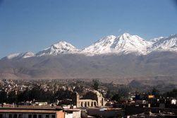 Vulcões em Arequipa