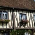 Arquitetura tradicional em Provins, França