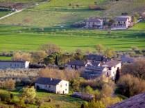 Zona rural na Umbria