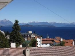 Lago Nahuel Huapi, em frente a Bariloche, Argentina