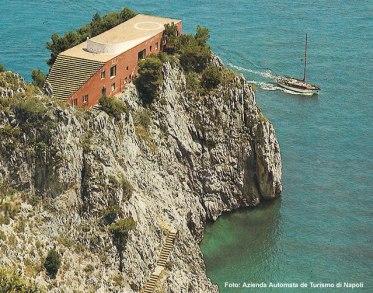 Belvedere em Capri