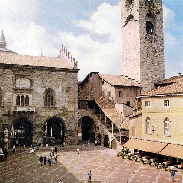Bergamo, na Itália