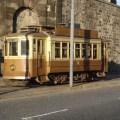 Bonde, na cidade do Porto