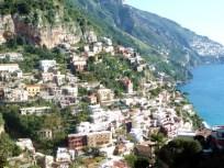 Costa Amalfitana, construções nas encostas