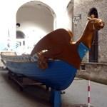 Costa Amalfitana, barco utilizado no Palio delle Antiche Repubbliche Marinare