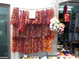 Costa Amalfitana, pimentas e temperos locais