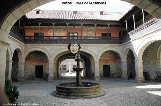 Casa de la Moneda em Potosí
