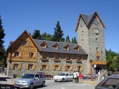 Centro Cívico, em Bariloche - Foto Manual do Turista