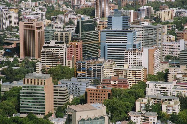 Centro de Santiago de Chile