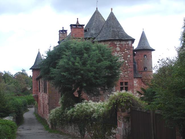 Collonges la Rouge, Limousin, França