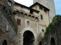San Gimignano, construções medievais