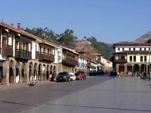 Plaza de armas em Cusco, Peru