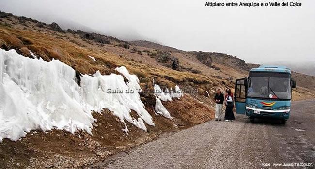 Estrada de Arequipa ao Valle del Colca, Peru