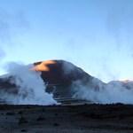 Gêiser no Atacama, Chile