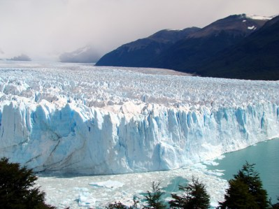 Glaciar Perito Moreno, Patagônia, no sul da Argentina