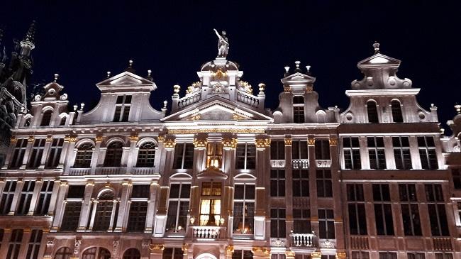 Grand Place, em Bruxelas, Bélgica