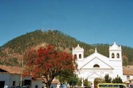Igeja em Sucre, na Bolívia