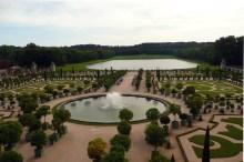 Jardins em Versalhes, França