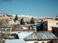 L' Aquila, na Itália, capital do Abruzzo