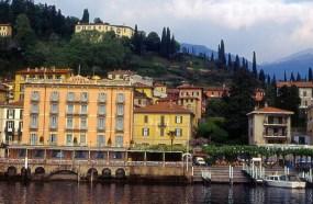 Lago di Como, na Lombardia, norte da Itália